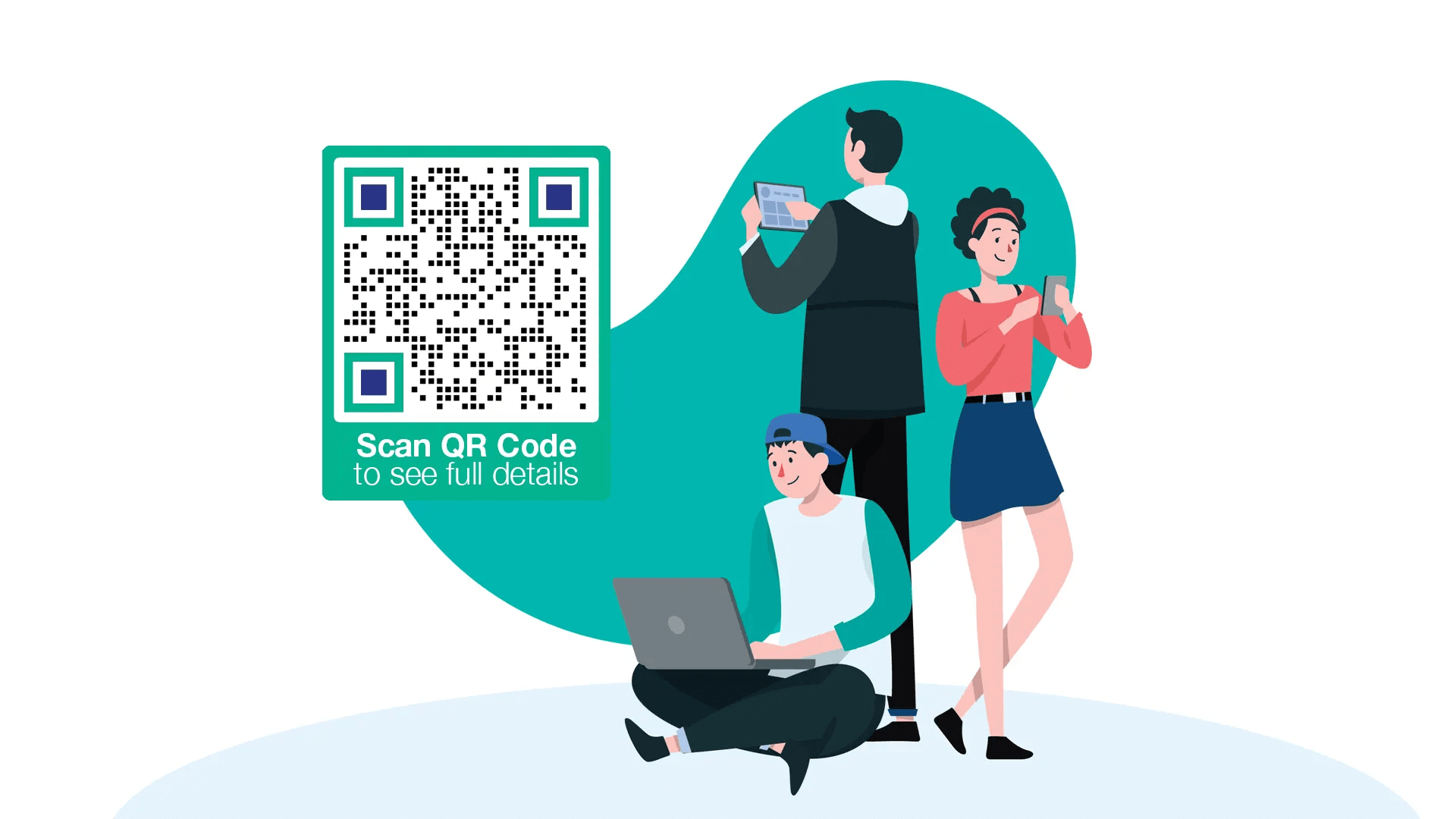 Colored QR Code