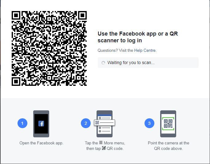 qr code for facebook