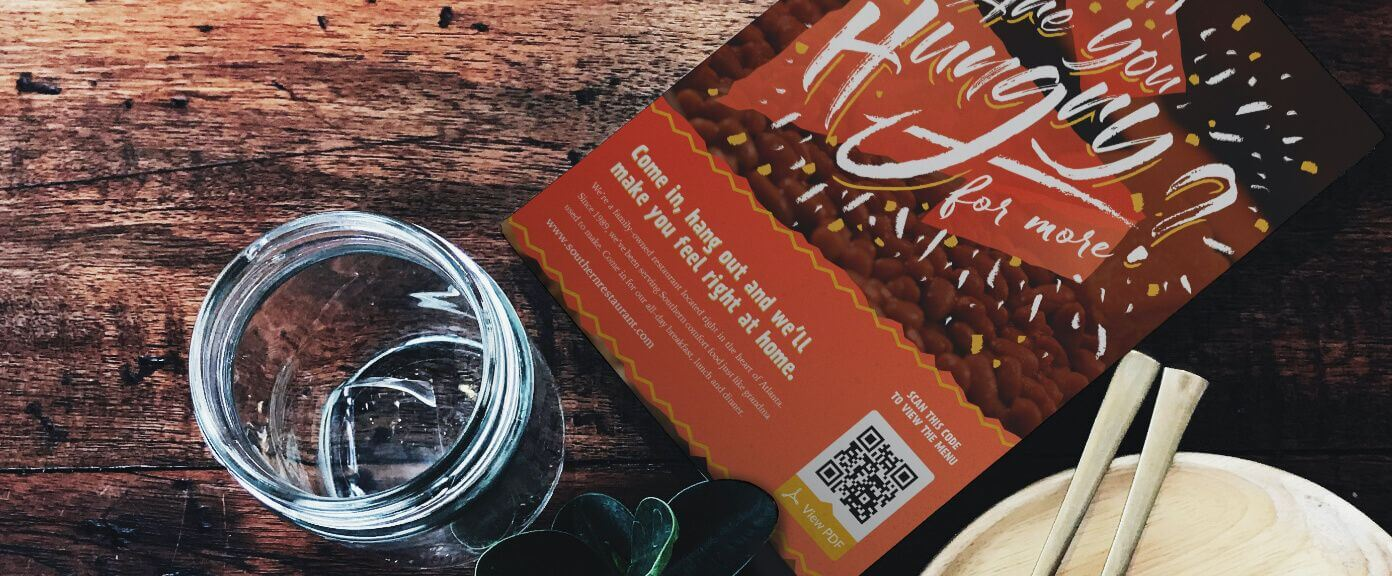 How to create QR code on flyers